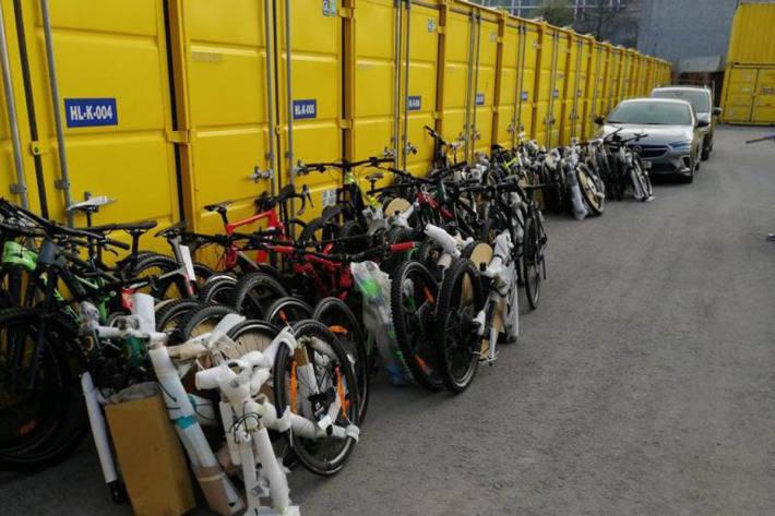 Gestohlene Fahrräder und Fahrradteile konnten den Geschädigten zurückgegeben werden