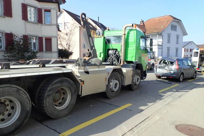 Bei Auffahrkollision in Romanshorn verletzt