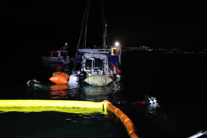 Vermisster Mann und Boot geborgen aus dem Zugersee bei Walchwil