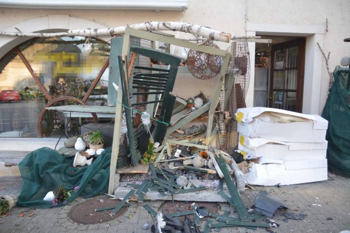 Grosser Schaden nach Unfall in Breitenbach