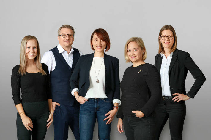 Team der Coop-Medienstelle