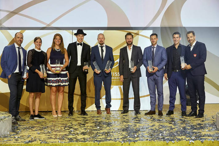Die Gewinner der Swiss Hockey Awards 2018