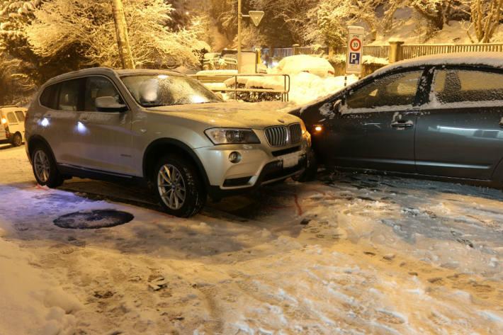 Unfall auf der Winkelriedstrasse
