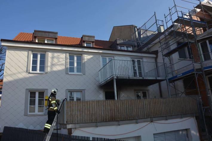 Die betroffene Wohnung wurde in Niedergösgen erheblich beschädigt und ist vorerst nicht bewohnbar