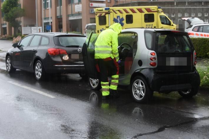 Heute kam es in Rapperswil-Jona zu einem Unfall.