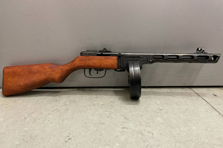 Maschinenpistole als Gastgeschenk vom Zoll sichergestellt