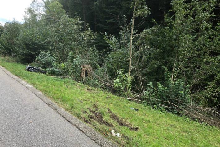 Motorradfahrer tödlich verunfallt in Mühlrüti