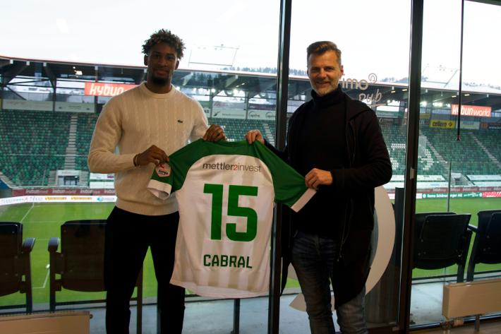 Der FC St.Gallen 1879 verpflichtet Euclides Cabral