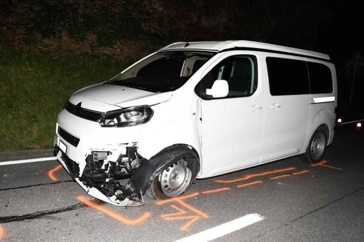 Beide Fahrzeuge erlitten in Chur Totalschäden
