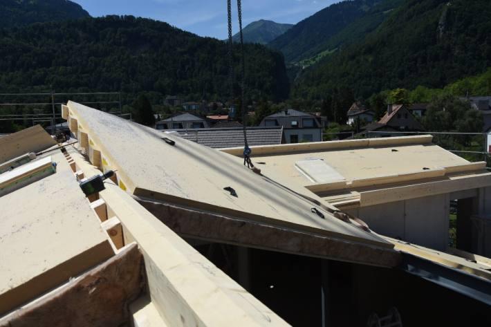 In Bad Ragaz SG stürzte gestern ein Arbeiter rund 4 Meter in die Tiefe.