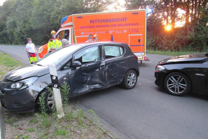 Wendemanöver führt zu Unfall