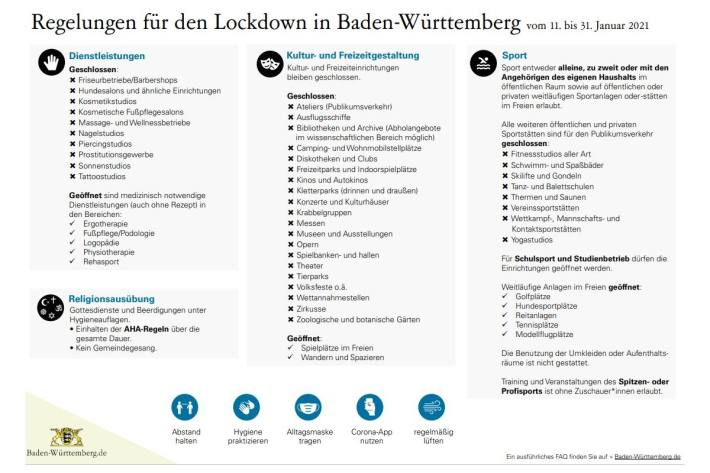 Corona Regelungen Baden Württemberg
