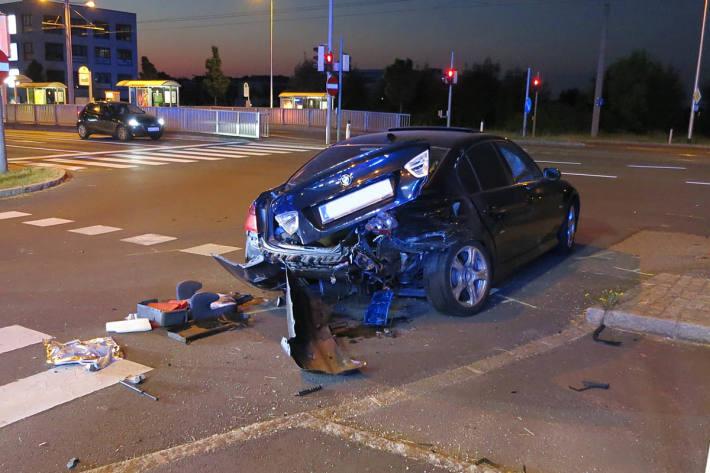 Schwerer Unfall in Leonding