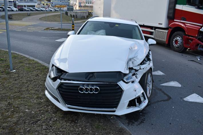 Beim Unfall gestern un Willisau LU hatte der Autolenker keinen gültigen Führerschein.