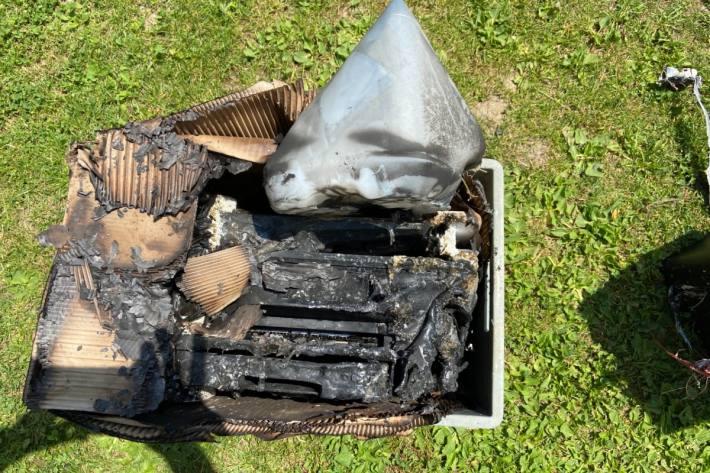 Gestern kam es in Niederwil zu einem Brand in einem Keller.