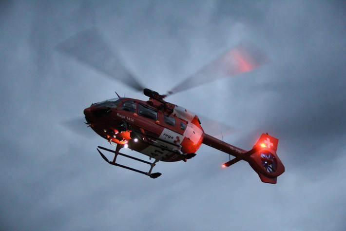 Eine Seniorin stürzte gestern in Tägerwilen TG zuhause und verletzte sich schwer. (Symbolbild)