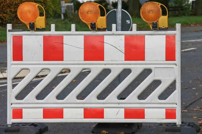 Strasse bis Dezember in St.Gallen gesperrt (Symbolbild)