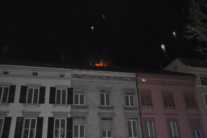 Das Feuer konnte gelöscht werden.