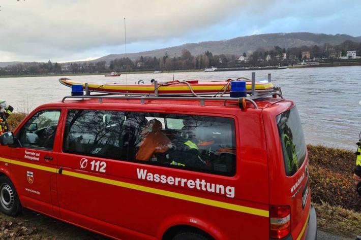Gegen 22.50 Uhr musste in Bonn die Suche ergebnislos abgebrochen werden