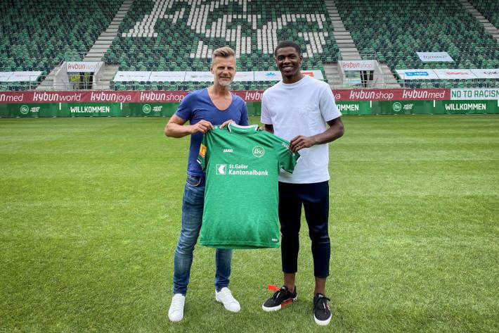 Kwadwo Duah bei FC St.Gallen