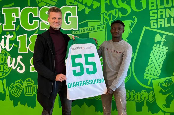 Salifou Diarrassouba beim FC St.Gallen