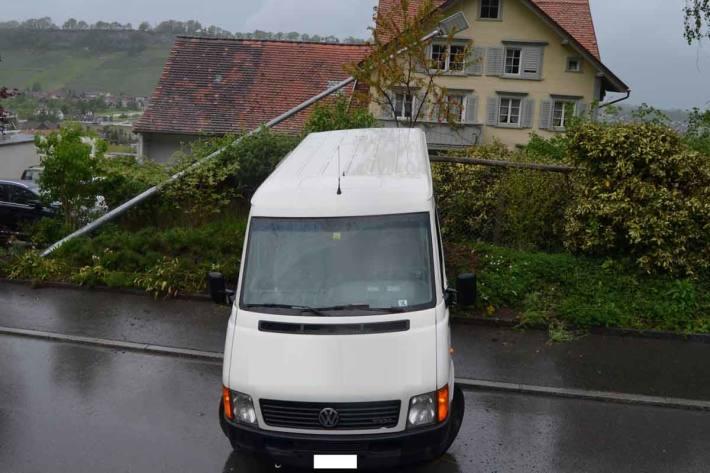 Selbstunfall in Lutzenberg