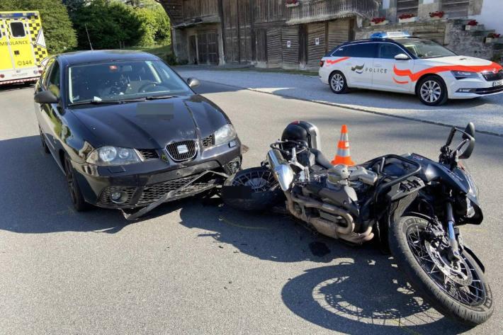 Endlage Unfallfahrzeuge in Bürglen