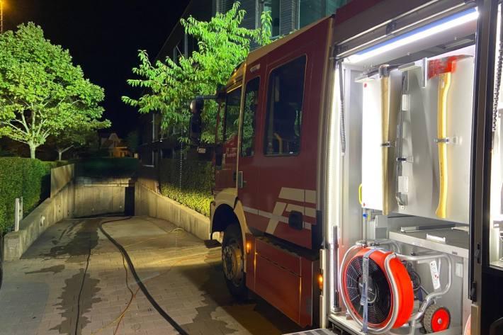 In Lenzburg AG verbrannte sich gestern ein Mann schwer.