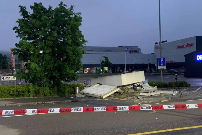 Der entstandene Sachschaden dürfte in Winterthur hunderttausend Franken übersteigen