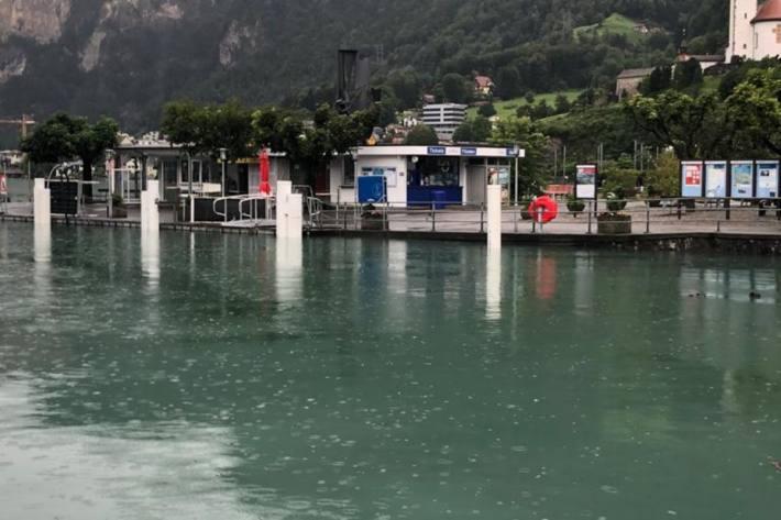 Die Hochwasserlage im Kanton Uri hat sich etwas entspannt.