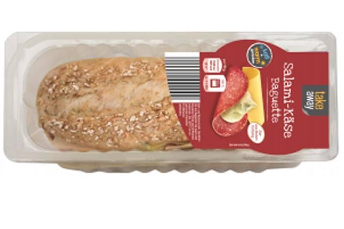 """Hersteller ruft """"take away Salami-Käse-Baguette"""" zurück"""