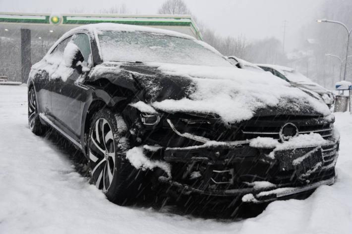 Unfall Unterterzen