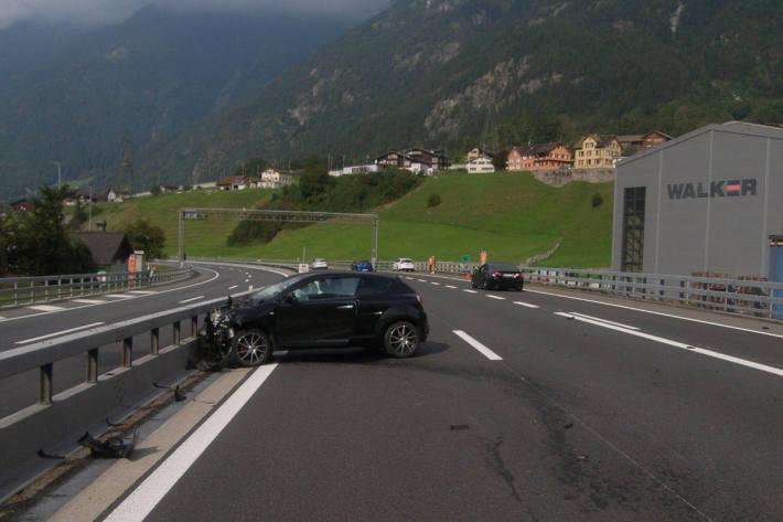 Während Fahrt auf Autobahn A2 eingeschlafen