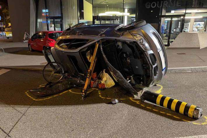 Velofahrerin bei Unfall in Basel schwer verletzt
