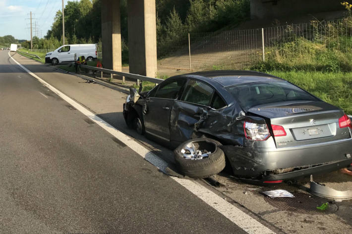 Schlimmer Verkehrsunfall