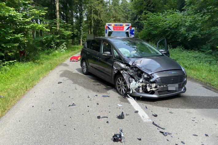 Schwerer Unfall in Oberrüti