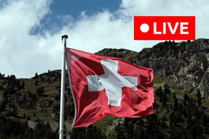 Ab 14.00 Uhr spricht der Bundesrat zur Lage in der Schweiz.