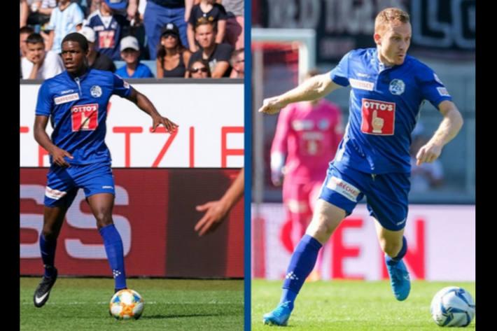 Tsiy Ndenge und Christian Schwegler (r.) fallen derzeit aus.