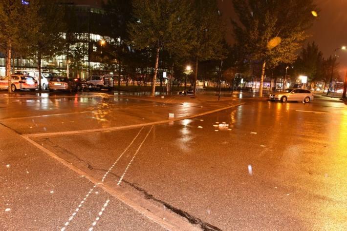 In Opfikon verunfallte heute Nacht ein Motorradlenker schwer.
