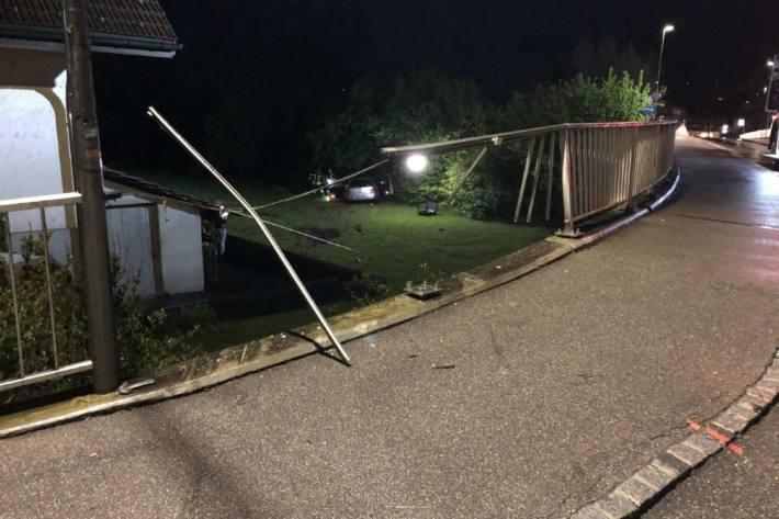 In Flamatt FR kam es gestern zu einem Unfall.