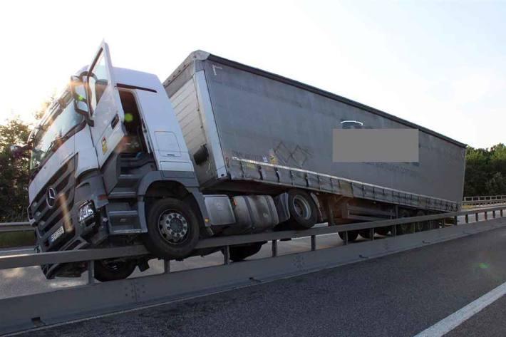 LKW-Unfall in Kottenheim