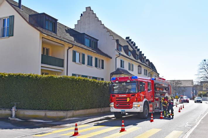 Die Brandursache und die Höhe des entstandenen Sachschadens sind in Schaffhausen Gegenstand laufender Ermittlungen