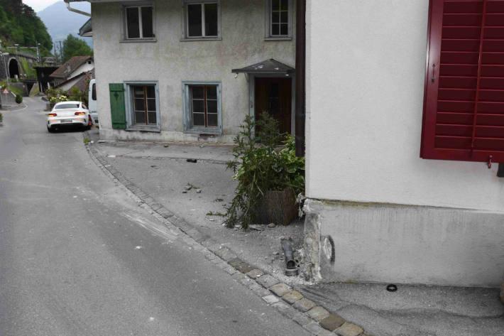 Die Raubfahrt endete in Mühlehorn.