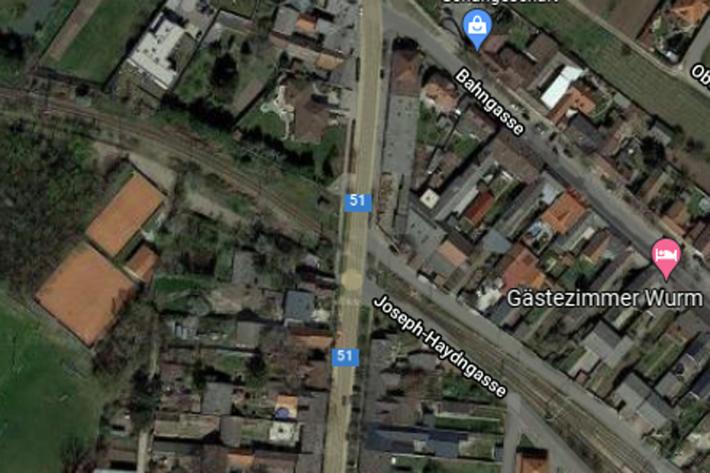 Verkehrsunfall mit Zug in Mönchhof