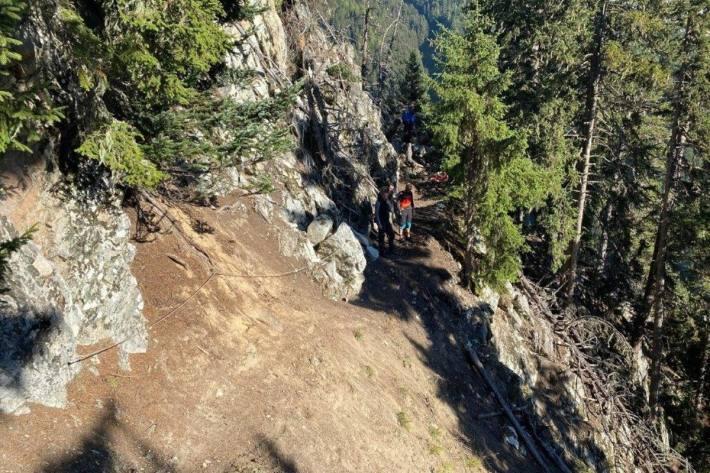 Ein Mountainbiker ist gestern bei einem tragischen Unfall in Verbier VS gestorben.