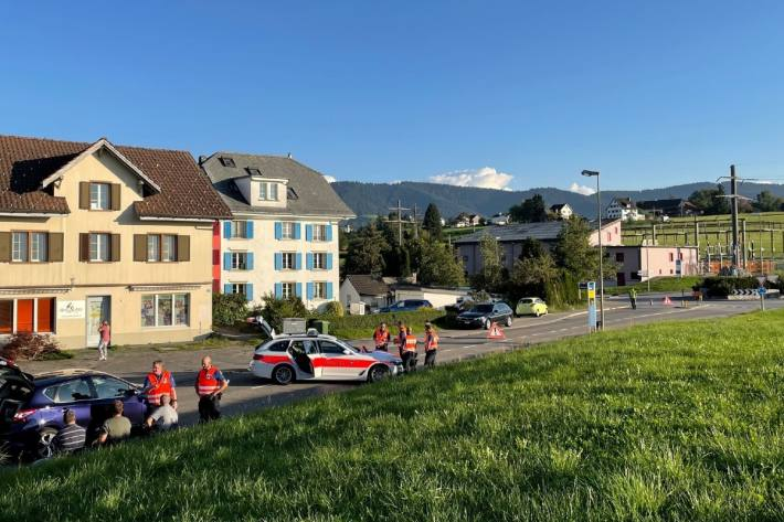 11-Jähriger in Wädenswil ZH von Auto erfasst und schwer verletzt.