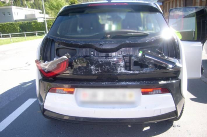 In Schattdorf UR kam es gestern zu einem Unfall mit einer verletzten Person.