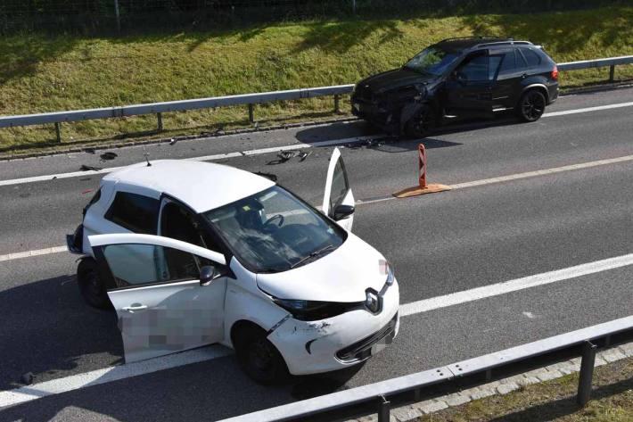 Unfall in Wagen