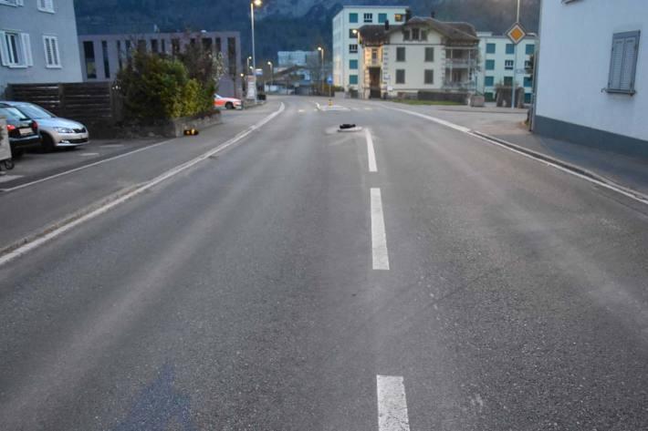 Der entstandene Sachschaden wird in Flums auf mehrere hundert Franken geschätzt