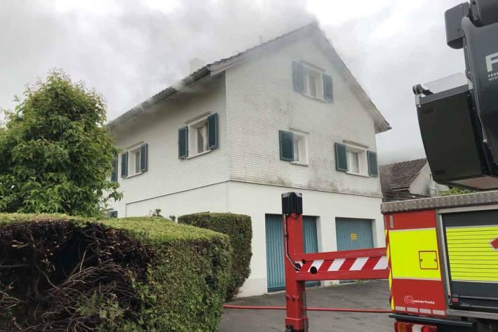 Bewohner bei Brand verstorben